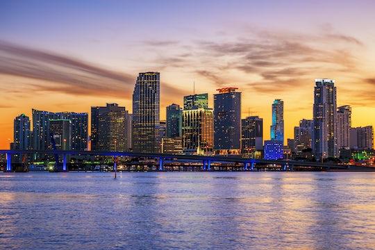 Miami sunset cruise with optional upgrade to Hard Rock Cafe & Sky Wheel