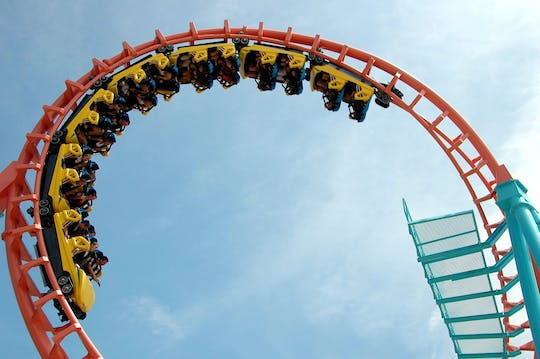 Gold Reef City Theme Park admission ticket with one-way transfer