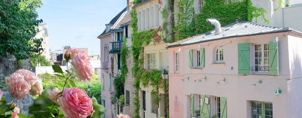 Tour audio della città di Montmartre sull'app mobile