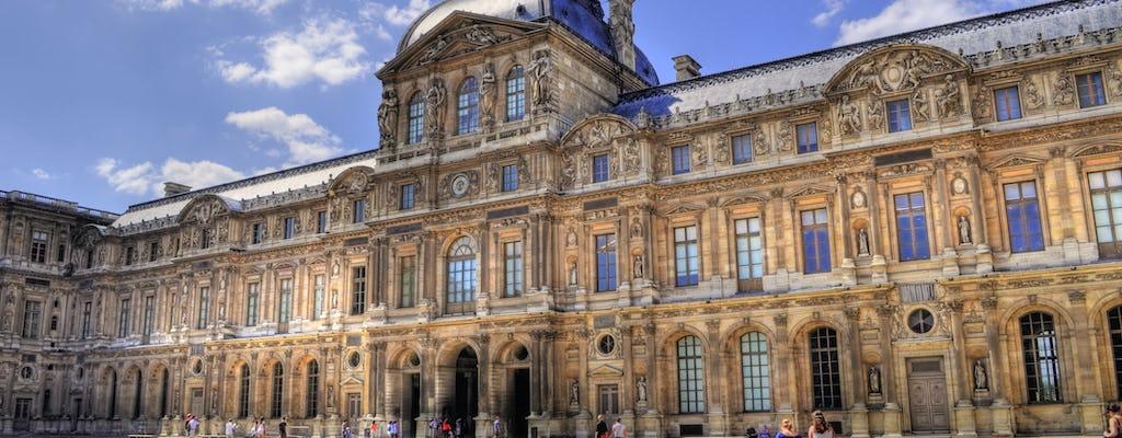 Billet prioritaire pour le musée du Louvre avec visite audio sur application mobile