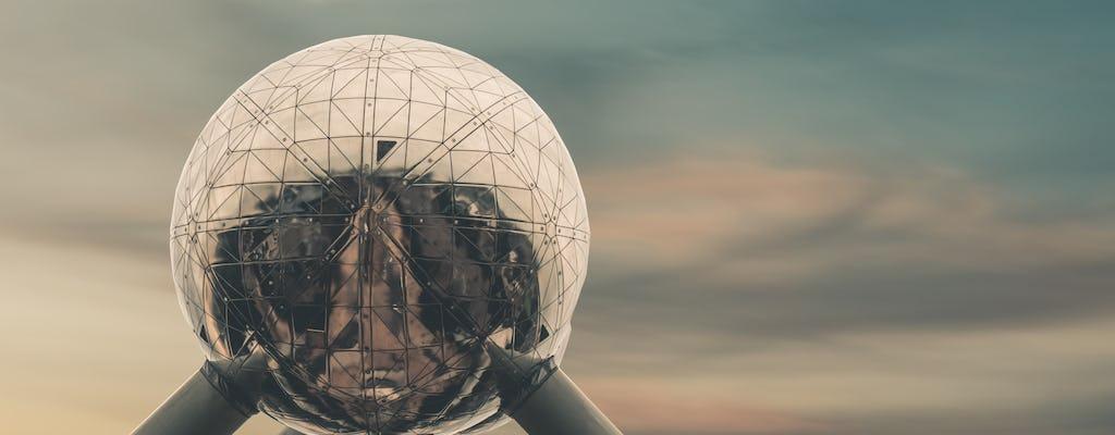 Atomium-Tickets mit Audiotour in der mobilen App