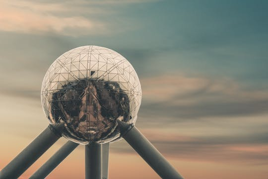 Biglietti Atomium con audio tour su app mobile