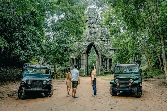 Angkor-complex en avonturenparcours per 4x4