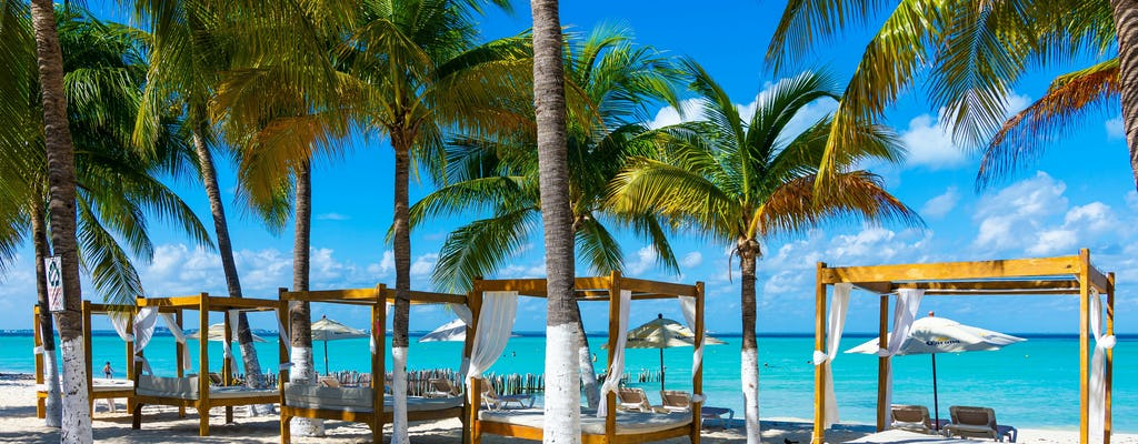 Katamaran Isla Mujeres z podstawowej wycieczki w Cancun