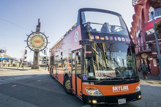 São Francisco MOMA e o Museu de-Young com passeio de ônibus 24 horas com ônibus panorâmico