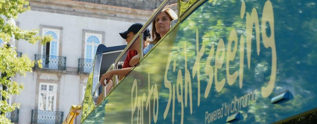 Tour de 48 horas en autobús con paradas libres por Oporto