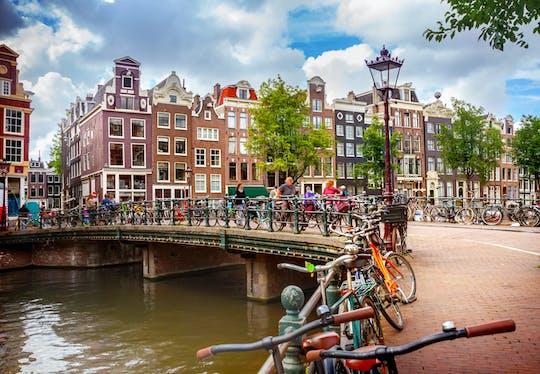 Alquiler de bicicletas de 48 horas en Ámsterdam con mapa de la ciudad
