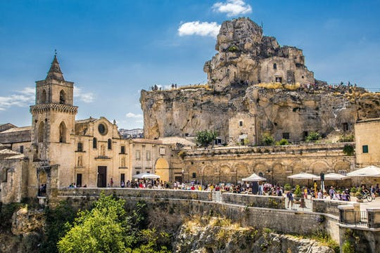 Matera European Capital of Culture 2019 from North Puglia