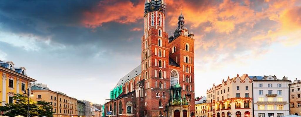 Visita guiada al castillo de Wawel, la catedral y el metro de Rynek con almuerzo