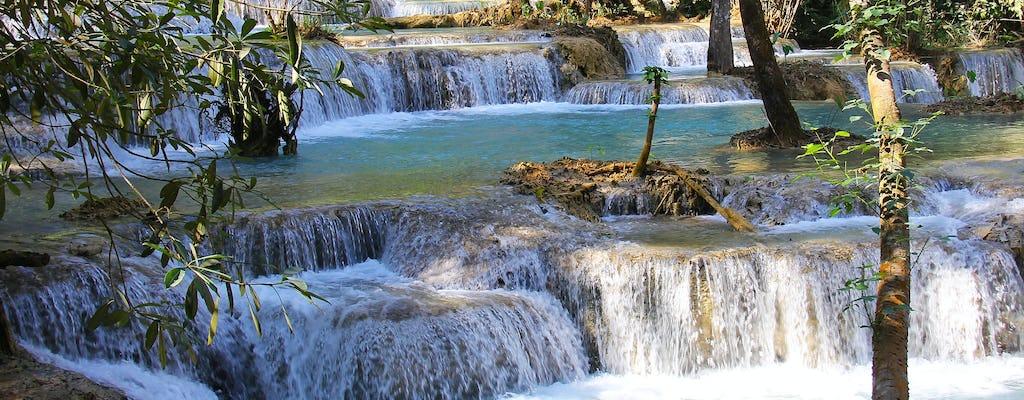 Full-day Kuangsi waterfall from Luang Prabang