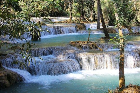 Całodniowy wodospad Kuangsi z Luang Prabang