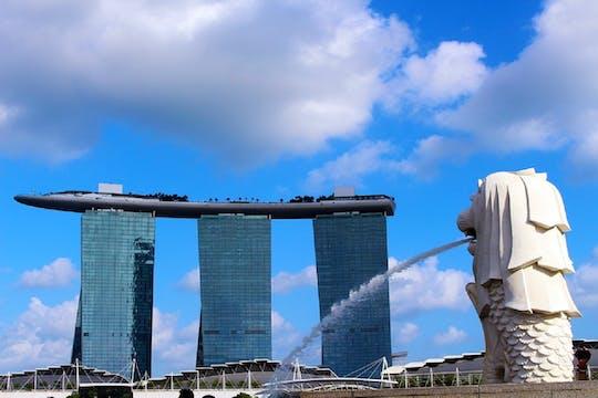 Tour della città di Singapore con crociera Bumboatboat