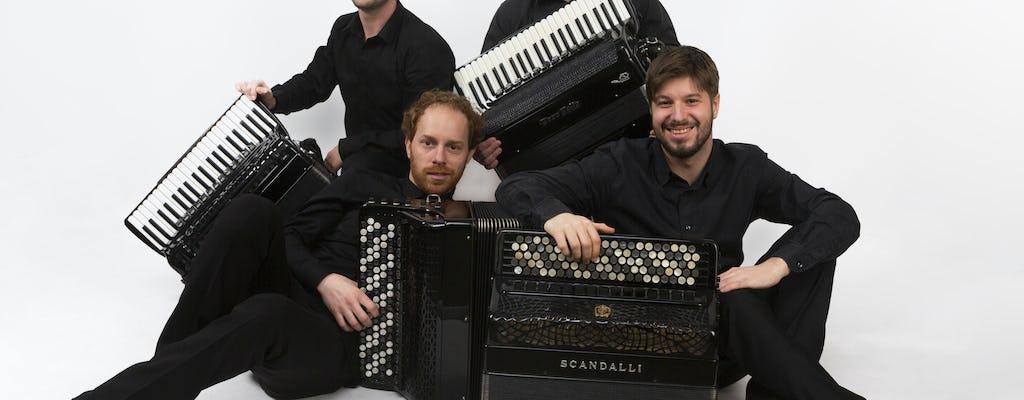 Entradas para Quartetto Aires - Redivivo 2021: El arte de cuatro acordeones