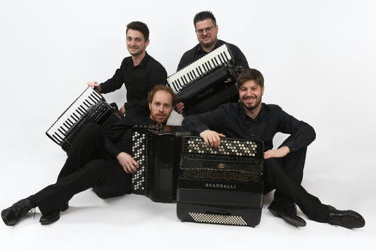 Tickets for Quartetto Aires – Redivivo 2021: The art of four accordions