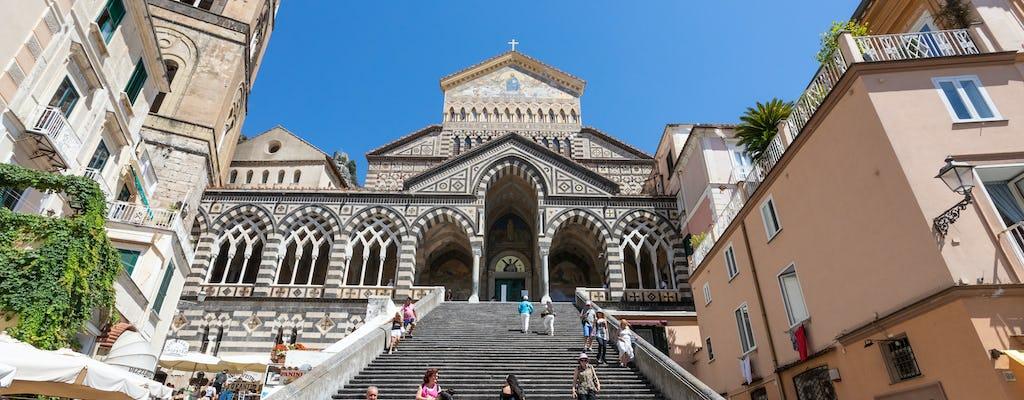 Całodniowa wycieczka z przewodnikiem po wybrzeżu Almalfi z Neapolu