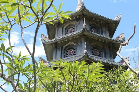 Visita guiada a las montañas de mármol y la pagoda Linh Ung