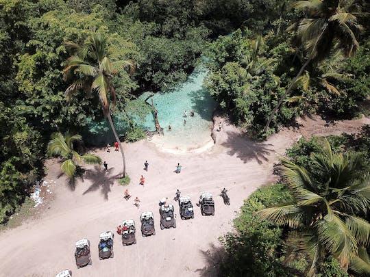 Visite en petit groupe de la péninsule de Samana en buggy