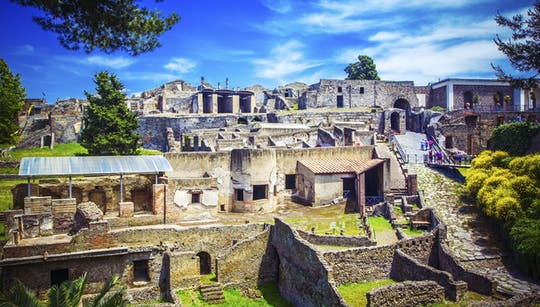 Prywatna wycieczka do Pompejów, Herkulanum i Wezuwu