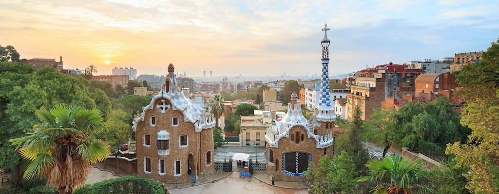 O melhor passeio autoguiado de Barcelona em um aplicativo móvel