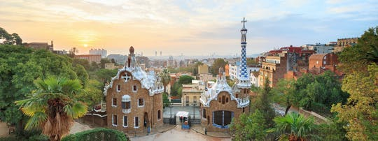 The best of Barcelona self-guided walking tour on a mobile app