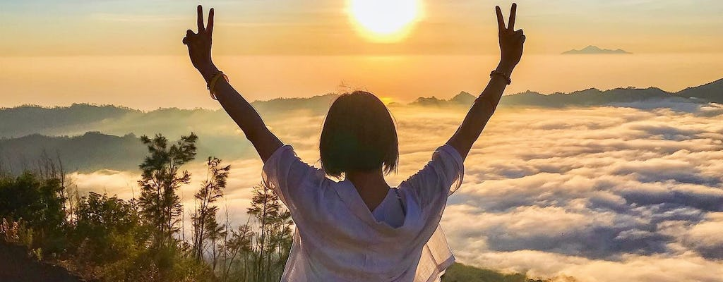 Private Mount Batur zonsopgangtrekking en natuurlijke warmwaterbron van Batur