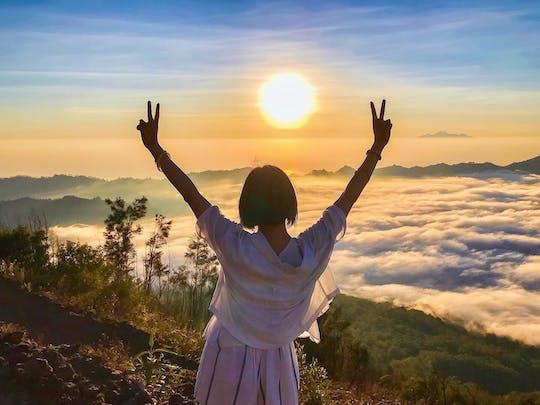 Private Mount Batur sunrise trekking and Batur natural hot spring