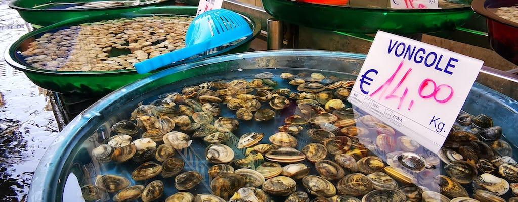 Experiencia de comida callejera en Nápoles que incluye almuerzo tradicional