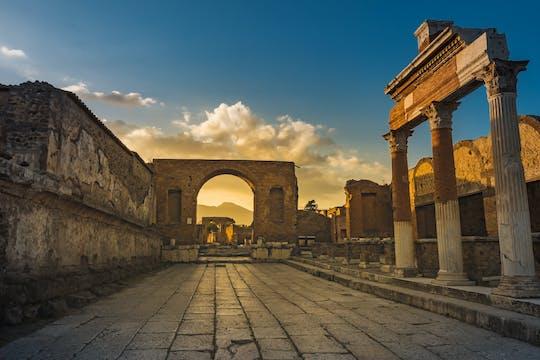 Entrada prioritaria a Pompeya con traslado desde Nápoles