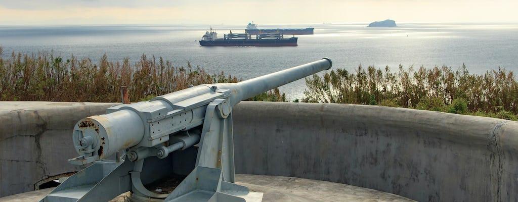 Militärische Russki-Insel und Voroshilov-Batterietour