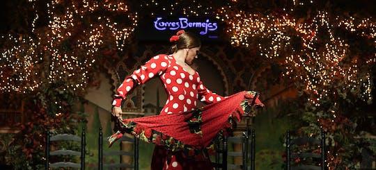Show de flamenco Tablao Torres Bermejas e menu de tapas