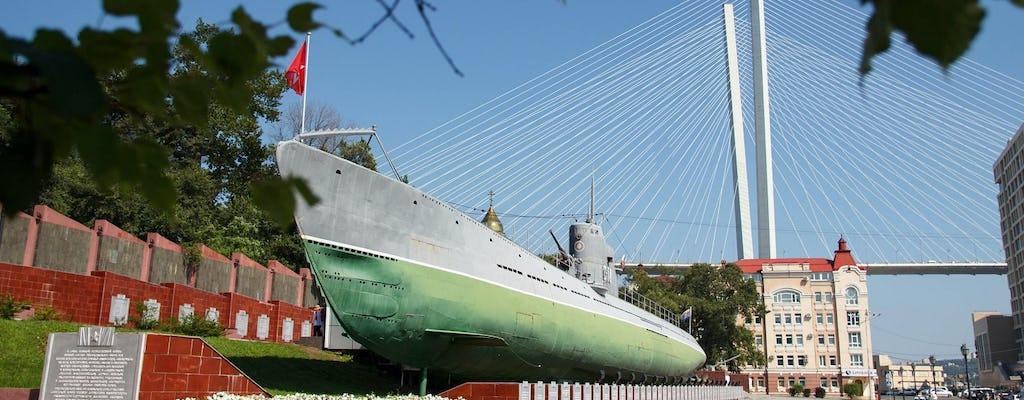 Piesza wycieczka z przewodnikiem po mieście oraz Memorial Submarine S-56