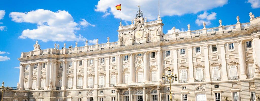 Visita guiada ao Palácio Real de Madrid com ingressos sem filas