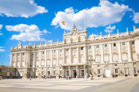 Wycieczka z przewodnikiem po Pałacu Królewskim w Madrycie z biletami bez kolejki
