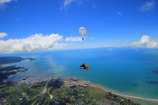 9,000ft tandem skydive over Abel Tasman