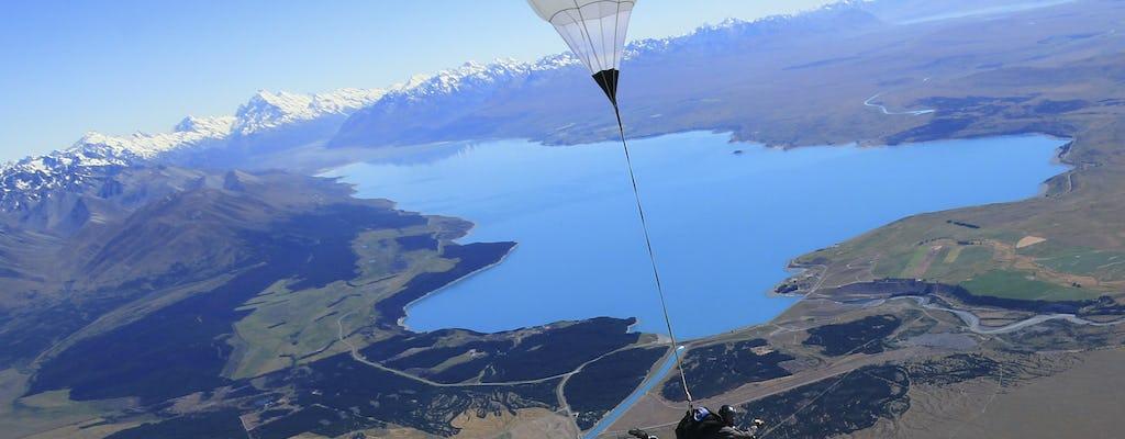 13,000ft Skydive tandem over Mt. Cook