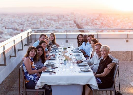 Visita guiada a la Ciudad de las Artes y las Ciencias con almuerzo o cena gourmet en la terraza más alta de Valencia