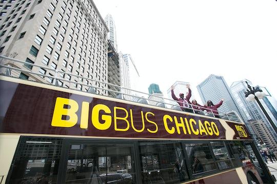 Big Bus tour of Chicago
