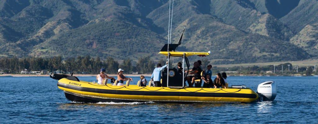 Passeio guiado de barco salva-vidas marinho de 1,5 horas em Oahu
