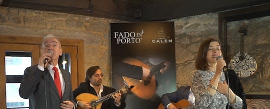 Экскурсия по погребу Порто Калема с дегустацией вин и шоу Фаду