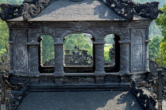 Hele dag hoogtepunten van het Hue-erfgoed van Danang en boottocht naar de Thien Mu-pagode