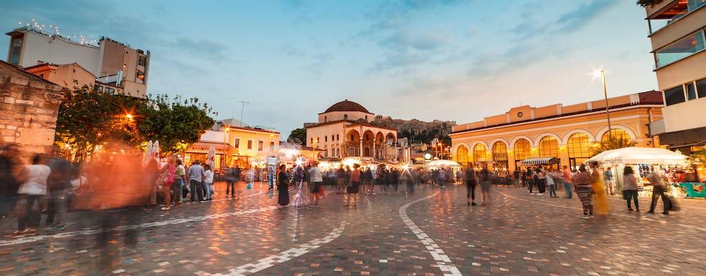 Athen Nachttour mit Cocktailverkostung und Souvlaki