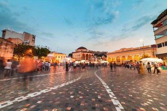 Nocna wycieczka po Atenach z degustacją koktajli i souvlaki
