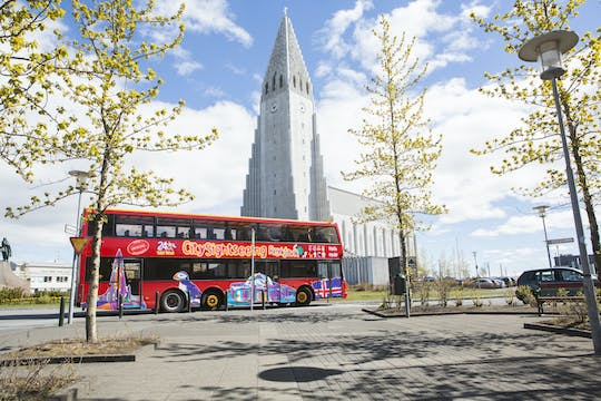 Tour in autobus hop-on hop-off City Sightseeing di Reykjavik