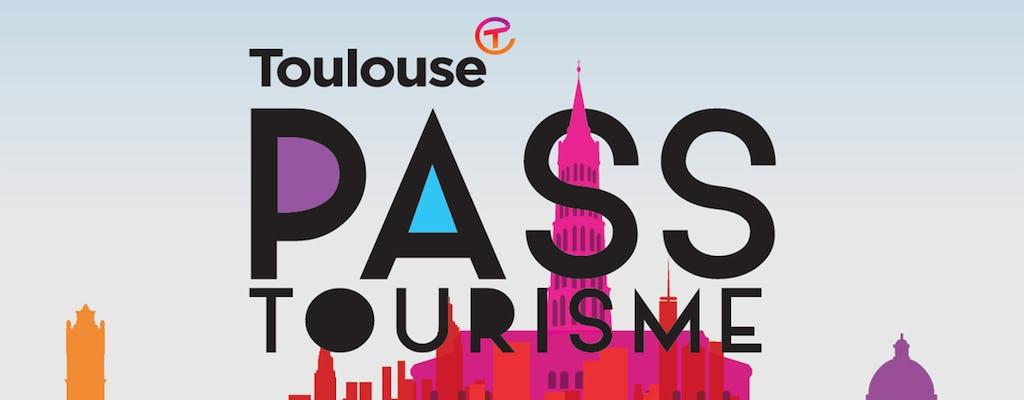 Tarjeta de la ciudad de Toulouse