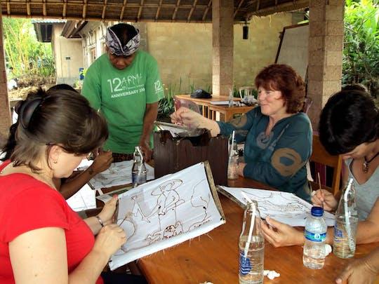 Balinees Batikken Workshop door Arma
