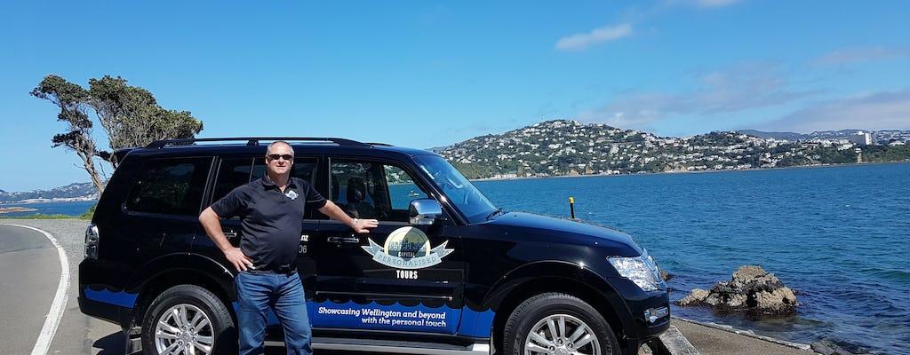 Tour guiado de día completo por la ciudad y la costa de Wellington