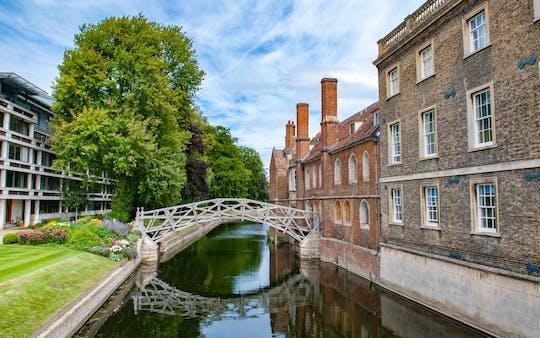 Joias escondidas do jogo de exploração e passeio de Cambridge