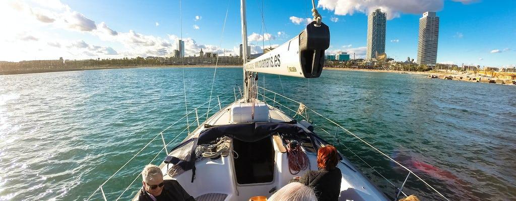 Private sailing trip in Barcelona