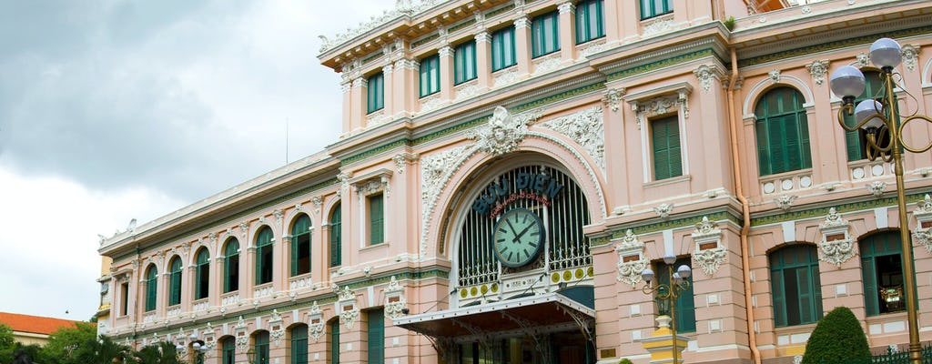Cu Chi Tunnels and Ho Chi Minh City's landmarks tour with lunch