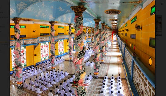 Cao Dai Temple and Black Lady Mountain tour with lunch